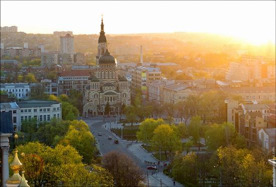 Kharkov city, Ukraine from above, photo 5