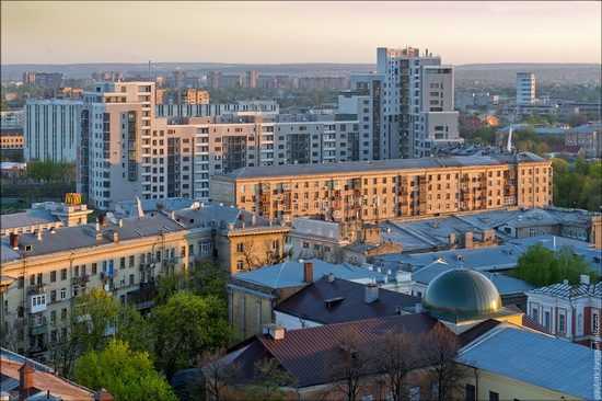 Kharkov city, Ukraine from above, photo 6