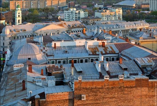 Kharkov city, Ukraine from above, photo 7