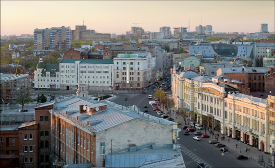 Kharkov city, Ukraine from above, photo 8