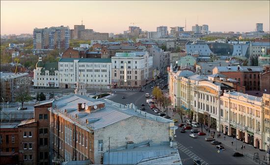 Kharkov city, Ukraine from above, photo 8
