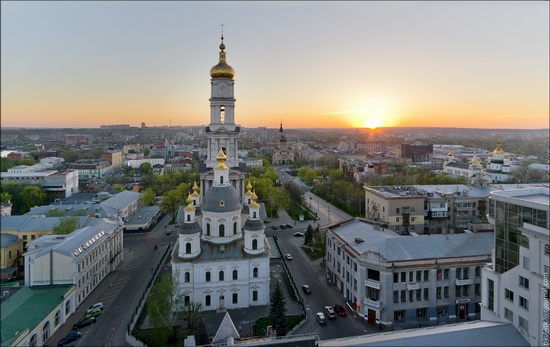 Kharkov city, Ukraine from above, photo 9