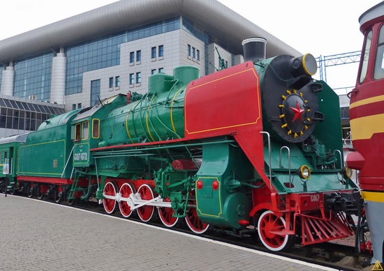 The Railway Museum in Kyiv, Ukraine, photo 14
