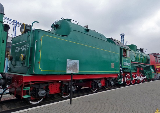 The Railway Museum in Kyiv, Ukraine, photo 16