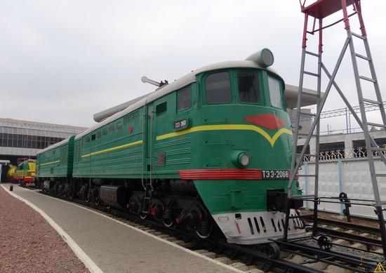 The Railway Museum in Kyiv, Ukraine, photo 3
