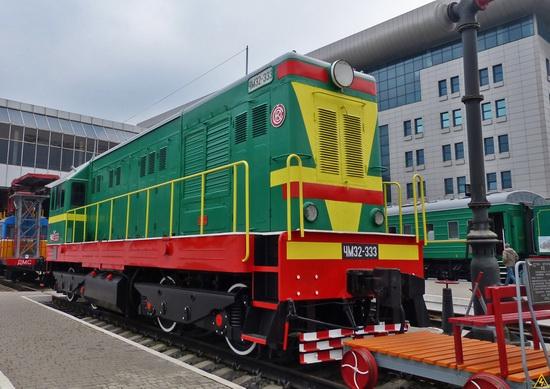 The Railway Museum in Kyiv, Ukraine, photo 6