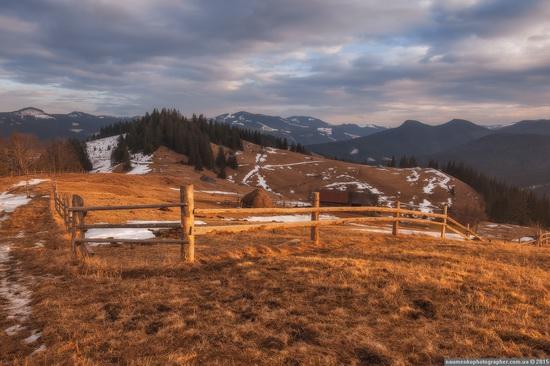Dairy morning and caramel sunset in the Carpathians, Ukraine, photo 9