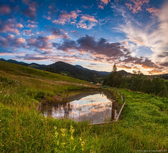 Summer evenings in the Ukrainian Carpathians, photo 2