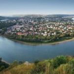 Zalishchyky – a very picturesque resort town