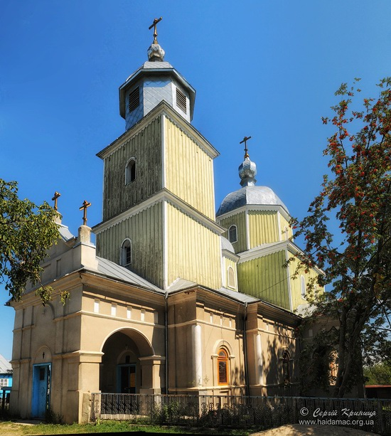 Kosmodemyanskaya Church in Bila Krynytsya, Ukraine, photo 14