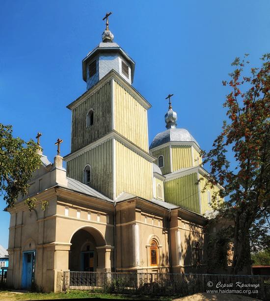 Kosmodemyanskaya Church in Bila Krynytsya, Ukraine, photo 14