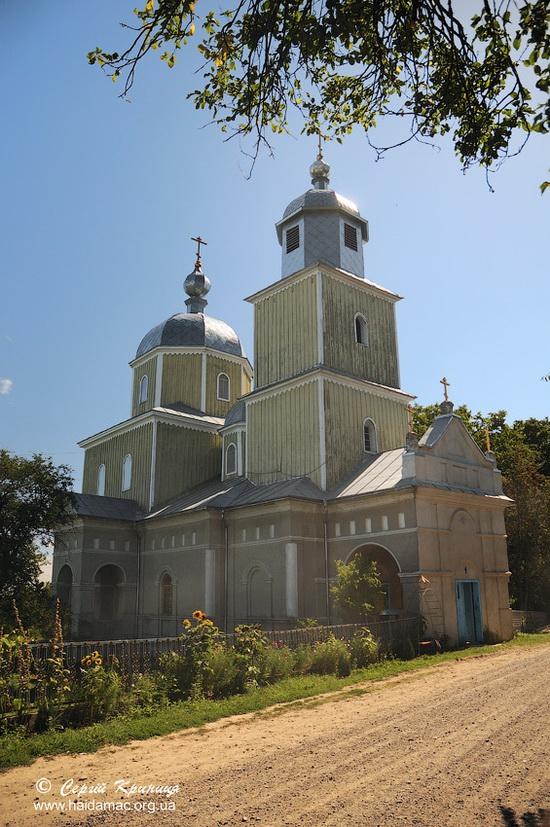 Kosmodemyanskaya Church in Bila Krynytsya, Ukraine, photo 15
