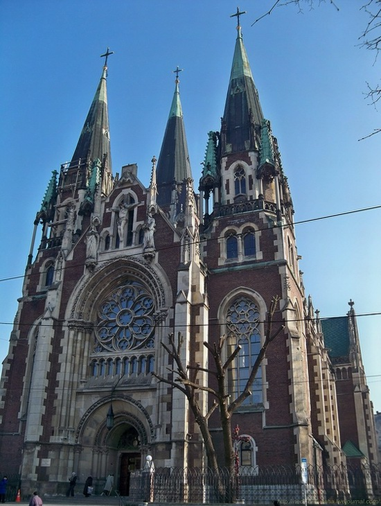 The Church of Sts. Olha and Elizabeth, Lviv, Ukraine, photo 10