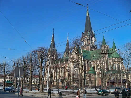 The Church of Sts. Olha and Elizabeth, Lviv, Ukraine, photo 17