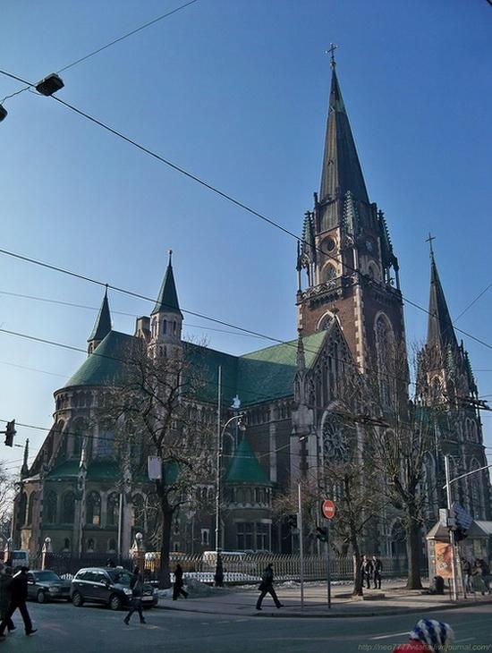 The Church of Sts. Olha and Elizabeth, Lviv, Ukraine, photo 2