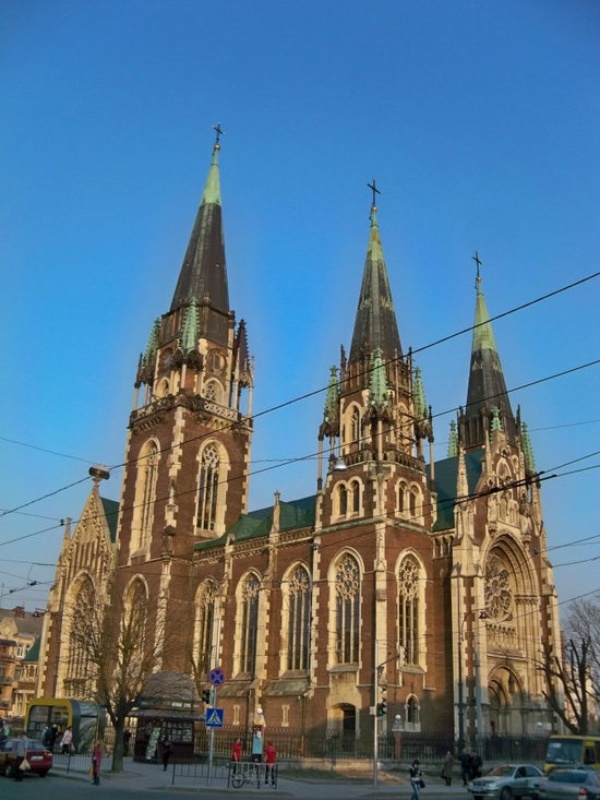 The Church of Sts. Olha and Elizabeth, Lviv, Ukraine, photo 4