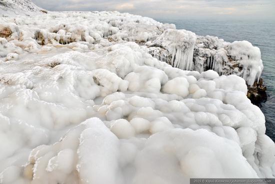 Ice age in Crimea - ice-bound Chersonese, photo 10