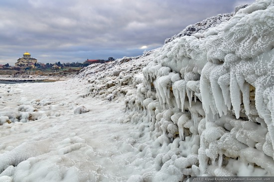 Ice age in Crimea - ice-bound Chersonese, photo 12