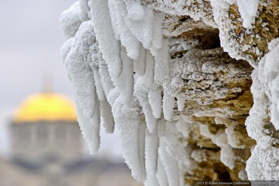 Ice age in Crimea - ice-bound Chersonese, photo 15