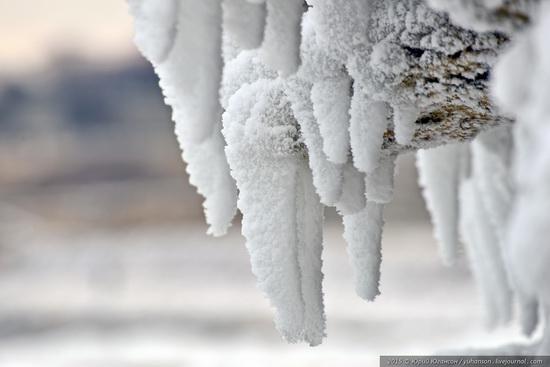 Ice age in Crimea - ice-bound Chersonese, photo 20