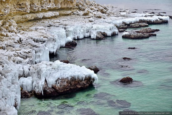 Ice age in Crimea - ice-bound Chersonese, photo 22