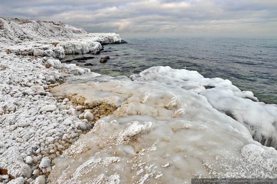 Ice age in Crimea - ice-bound Chersonese, photo 8