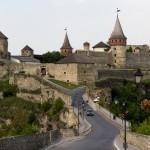Medieval castle in Kamenets-Podolskiy