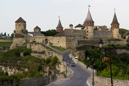 Medieval castle in Kamenets-Podolskiy, Ukraine, photo 1