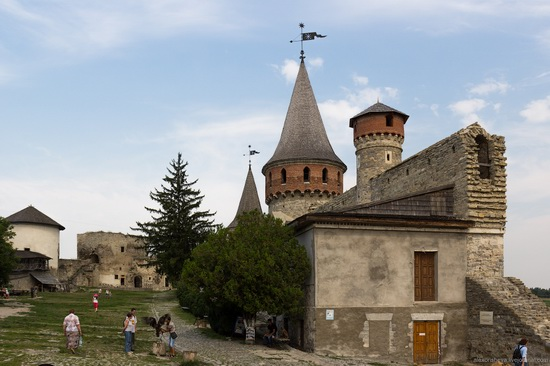 Medieval castle in Kamenets-Podolskiy, Ukraine, photo 10