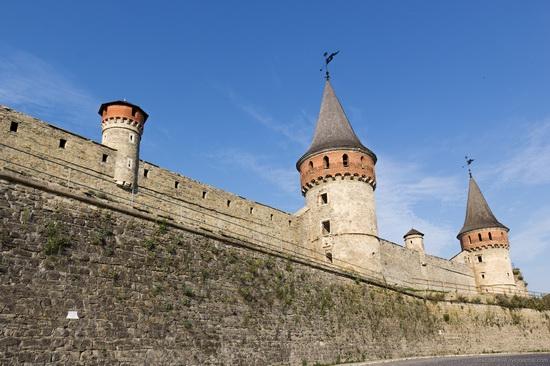 Medieval castle in Kamenets-Podolskiy, Ukraine, photo 11