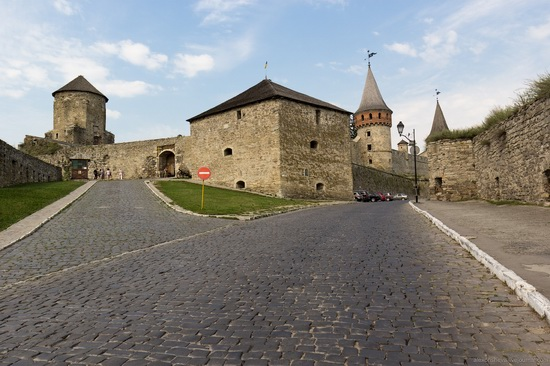 Medieval castle in Kamenets-Podolskiy, Ukraine, photo 2