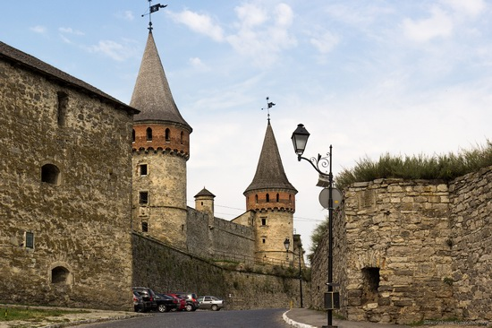 Medieval castle in Kamenets-Podolskiy, Ukraine, photo 3