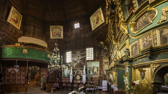 St. Nicholas Church in Sasiv, Lviv region, Ukraine, photo 10