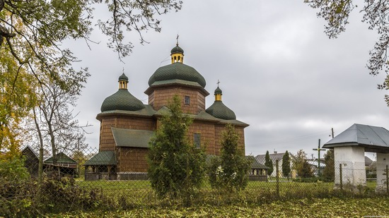 St. Nicholas Church in Sasiv, Lviv region, Ukraine, photo 11