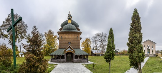 St. Nicholas Church in Sasiv, Lviv region, Ukraine, photo 3
