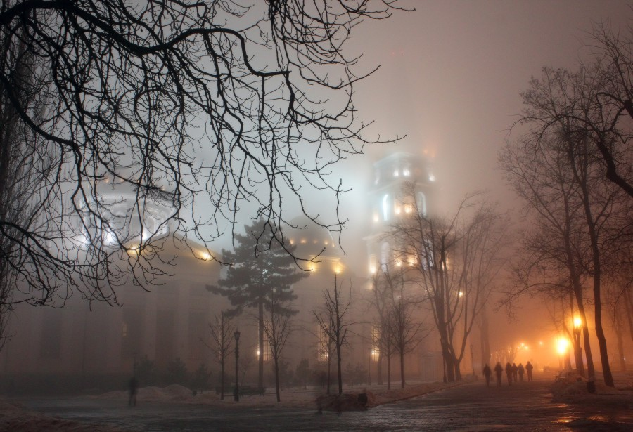 Mysterious views of Odessa in winter time · Ukraine travel ...