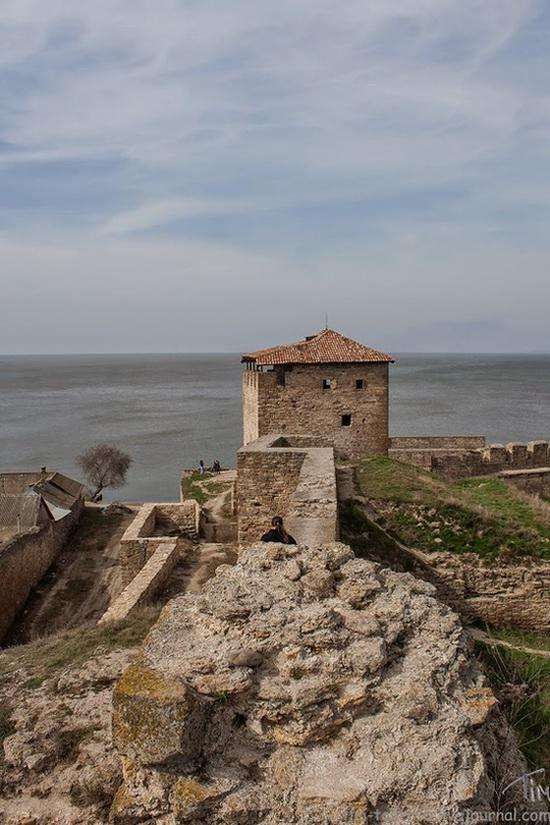 Medieval fortress in Bilhorod-Dnistrovskyi, Ukraine, photo 10