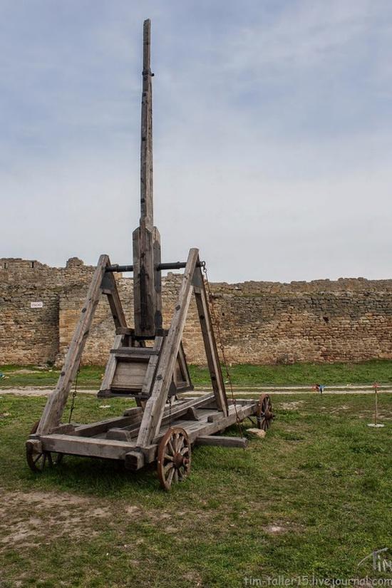 Medieval fortress in Bilhorod-Dnistrovskyi, Ukraine, photo 12