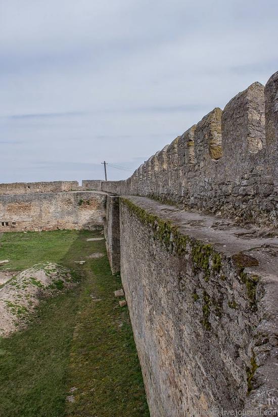 Medieval fortress in Bilhorod-Dnistrovskyi, Ukraine, photo 17