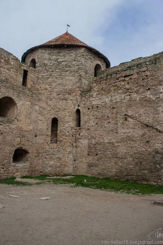 Medieval fortress in Bilhorod-Dnistrovskyi, Ukraine, photo 19