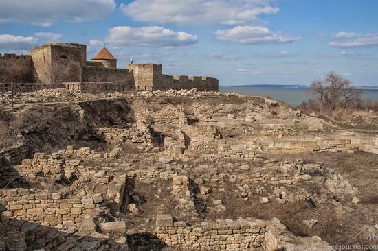 Medieval fortress in Bilhorod-Dnistrovskyi, Ukraine, photo 2
