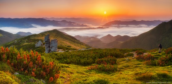 The Ukrainian Carpathians - a heaven on earth