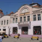 Uzhhorod city – a unique mix of architectural styles