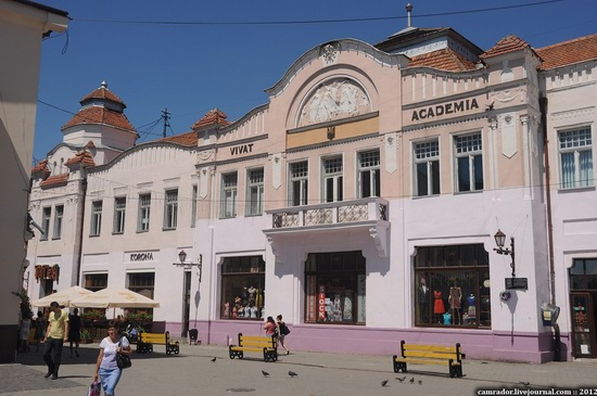 Uzhhorod city architecture, Ukraine, photo 1