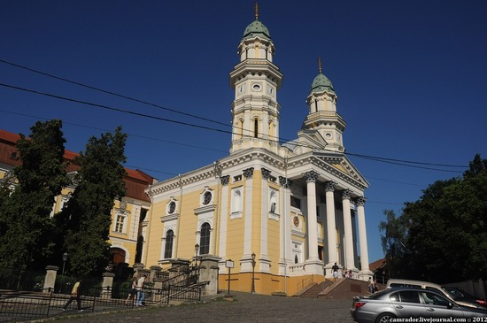 Uzhhorod city architecture, Ukraine, photo 16