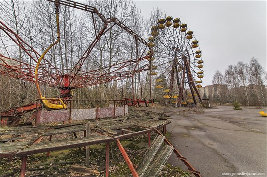 Chernobyl zone 29 years later, Ukraine, photo 2