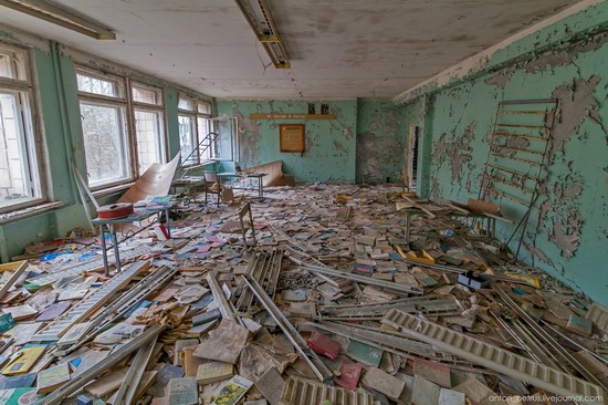 Chernobyl zone 29 years later, Ukraine, photo 8