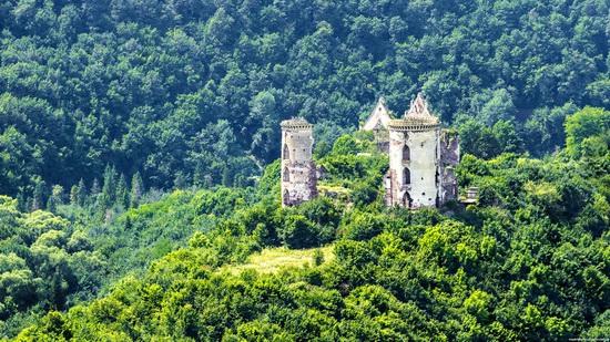 Chervonograd palace remains, Ternopil region, Ukraine, photo 1