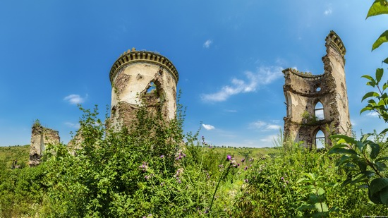 Chervonograd palace remains, Ternopil region, Ukraine, photo 10