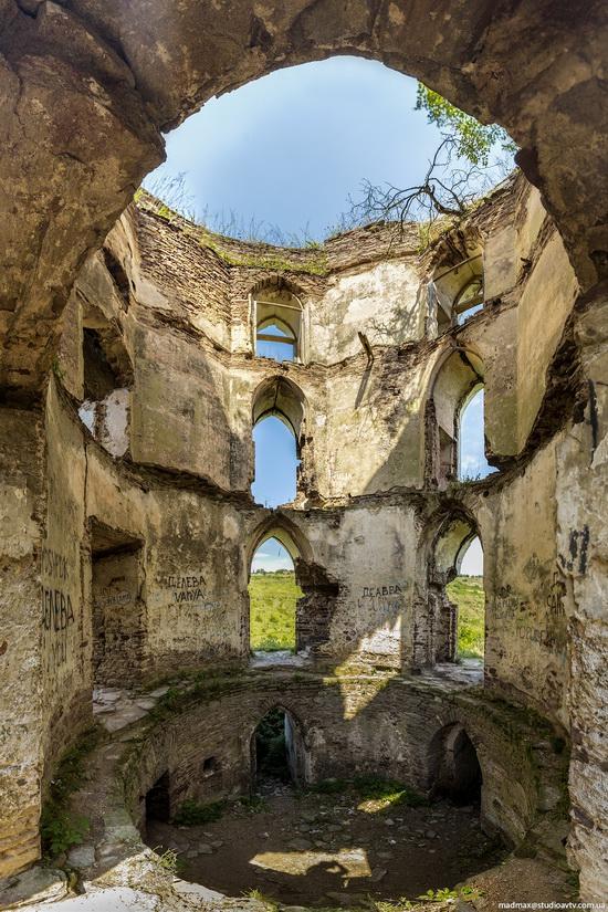 Chervonograd palace remains, Ternopil region, Ukraine, photo 11
